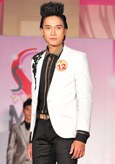 Finalists of vietnam supermodel 2010 compete in evening - Appartement renove hanoi hung manh tran ...