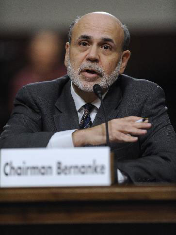 Monetary policy not panacea for U.S. economic woes: Bernanke