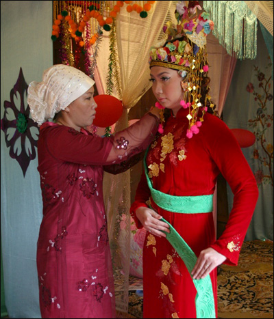 Traditional Wedding Ceremony Of Cham People, culture of Cham ethnic, Cham people, traditional cham wedding