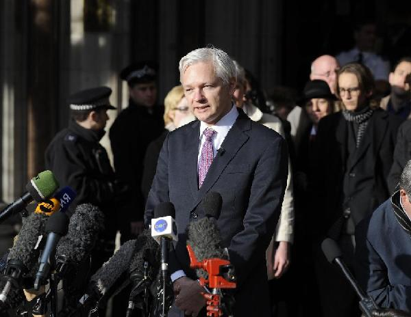 Wikileaks founder Assange wins latest round of legal battle to appeal extradition