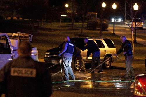 Two dead in Virginia Tech shooting, gunman believed dead