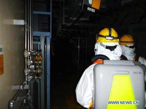 TEPCO considers dumping radioactive water into Pacific