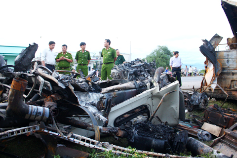 Most serious accidents in Vietnam this year