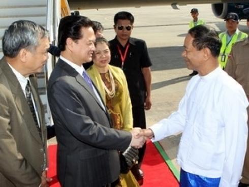 Prime Minister starts Myanmar visit