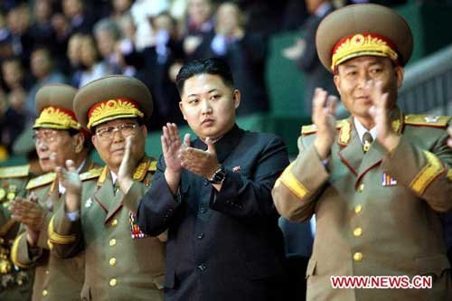 Kim Jong Un hailed as great leader as his father: DPRK media