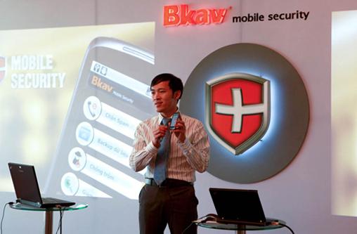 BKAV: 2.3 billion dong for Bkav.com domain name inexpensive