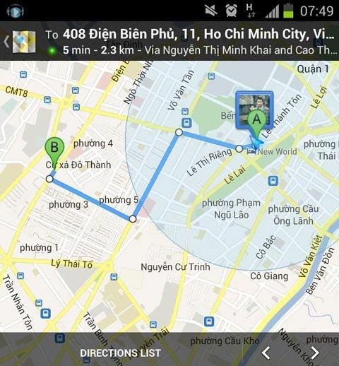 Google Maps\' Directions active again in Vietnam - News VietNamNet