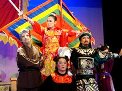 Arts troupe to promote 'cai luong'