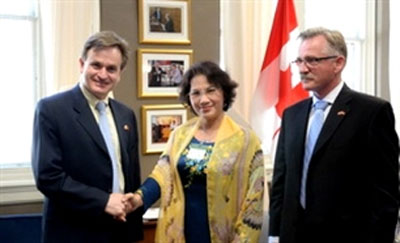 Canadian leaders value Vietnam's socio-economic achievements