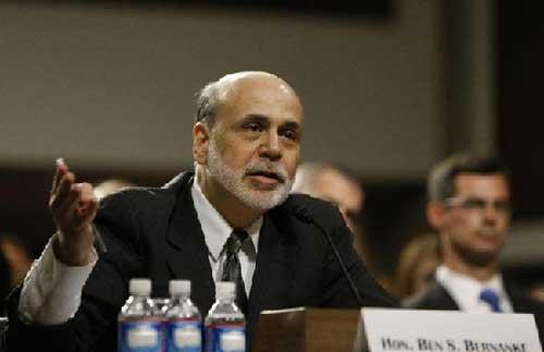 Risks to U.S. economic growth on rise: Bernanke