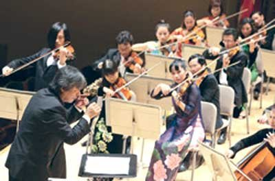 Orchestra to tour Laos, Cambodia