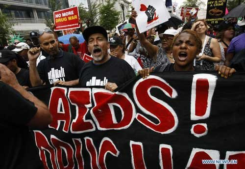Global AIDS conference kicks off amid U.S. lag in combating pandemic