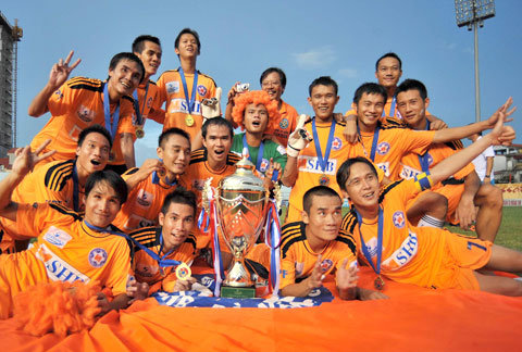 Da Nang claims 2012 V-League championship