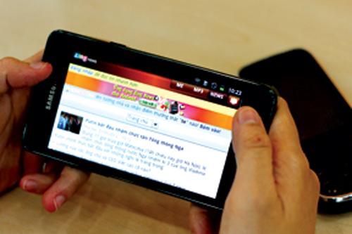 Venture funds pour money into mobile app development firms