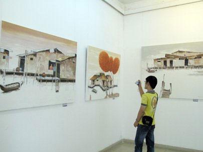 Real life of delta via Duong Sen's brush