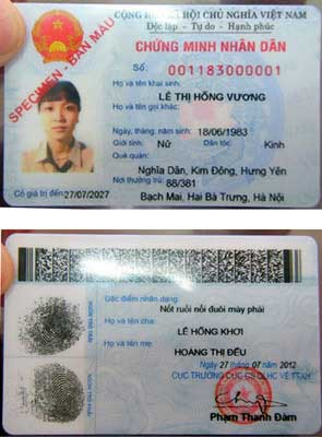 Các chữ số đầu của Giấy chứng minh nhân dân ~ Blog Hoàng ...