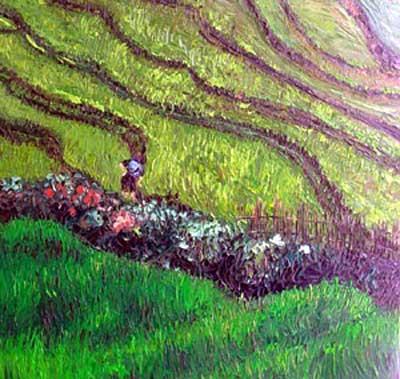Artist evokes beauty of life