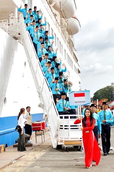 the ship for southeast asian youth Participants of ship for south east asian youth program (sseayp) a representative of the school introduced the school and the jica project conducted in the.