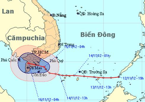 Tropical depression to enter southwestern region