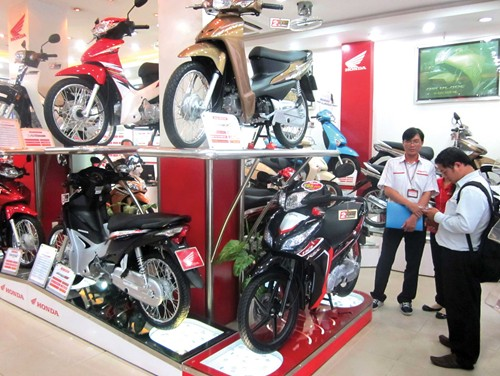 Motorbike sales down, but motorbike industry remains a fertile soil