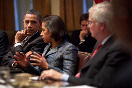 Obama rules out UN ambassador to be next secretary of state