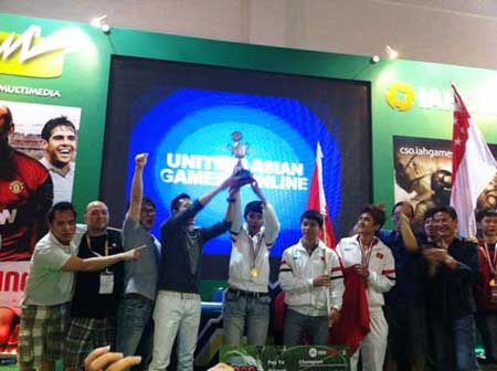 Online gamers overcome rivals to triumph at One Asia Cup
