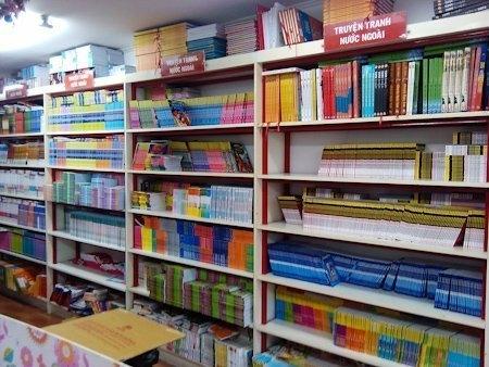 Vietnam, comics, book market