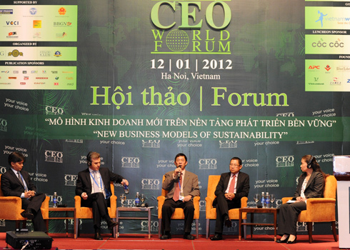 Vietnam, CEO World Forum 2013, HCM City
