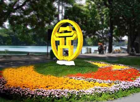 Ha Noi flower festival salutes New Year