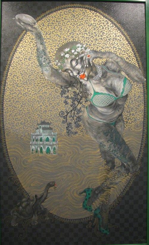 painting, exhibition, Hanoi, artist