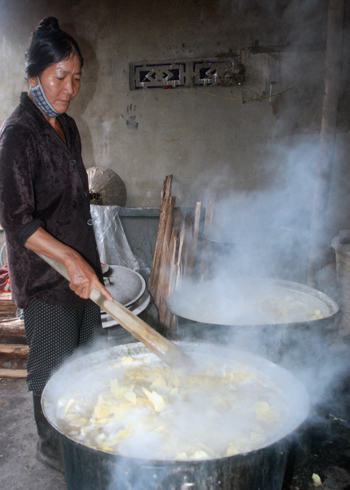 ginger jam, Tet holiday, New Year, Quang Ngai