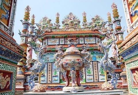 tombs, luxury, An Bang, Tay Ninh, shrine, Hanoi, cemetery