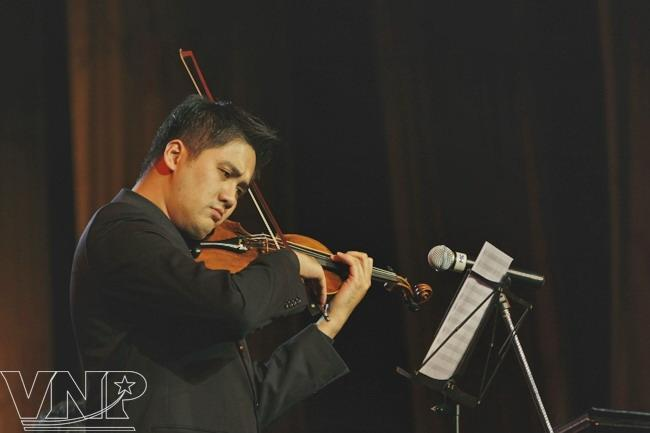 violinist, bui cong duy, portrait