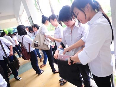 Vietnam, exam cheating, students, Doi Ngo High School, punishment