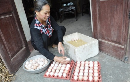 The home of the chicken in Vietnam's Red Book