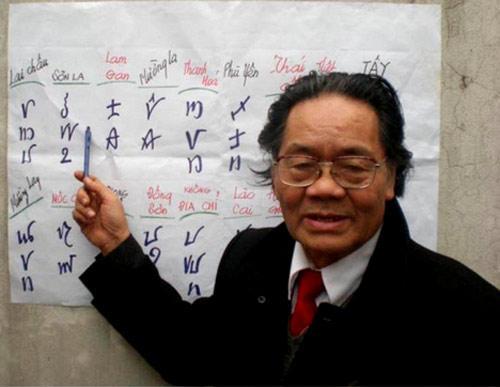 ancient vietnamese script, writing, Do Van Xuyen, book, decode