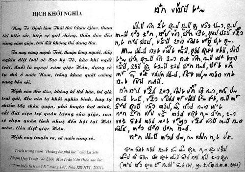 Ancient Vietnamese Script Writing Do Van Xuyen Book Decode