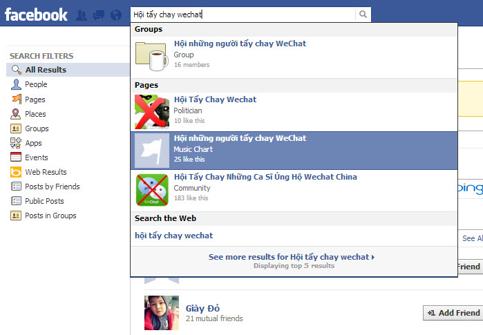 Vietnam, WeChat, social network, Internet users, boycott