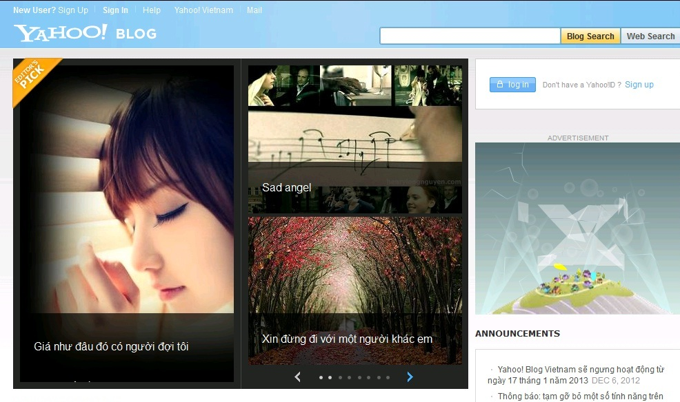 Vietnamese bloggers still awaiting service providers