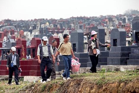 cemetery, yen ky, tomb, grave