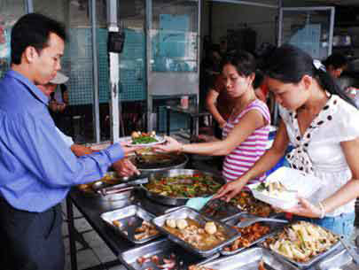 Street food, Tet, hygiene, food services
