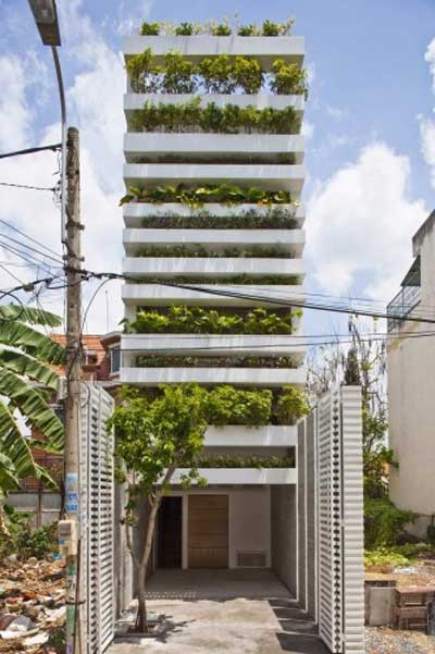 Architect, Vo Trong Nghia, Stacking Green House