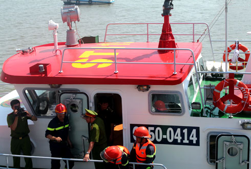 20130304140655 2 Saigon Acquires Its First Modern Fire Fighting Ship
