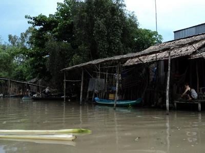 Vietnam, river networ, Mekong Delta, climate change