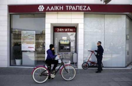 Cyprus banks to stay shut as world markets take fright
