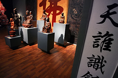 buddha statues, treasures, vietnam, exhibition, history museum