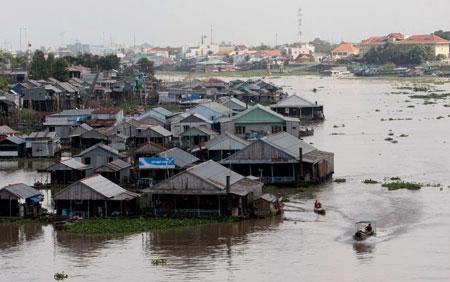 Mekong, climate change, USAID