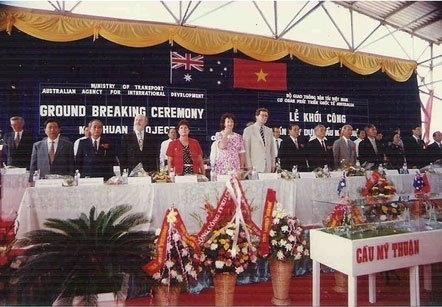 vietnam-australia, diplomatic relations, oda, my thuan bridge