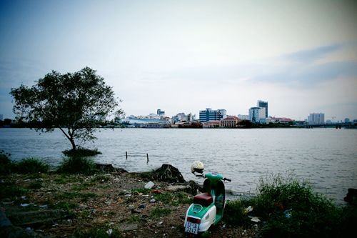 sai gon river, thu thiem, riverbank, new residential area