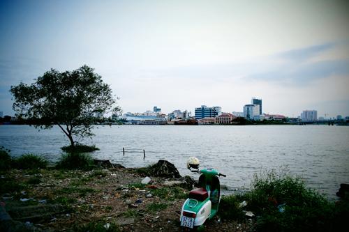 sai gon river, thu thiem, riverbank, new residential area
